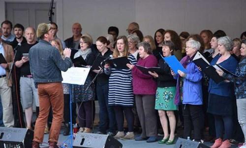 Glad Community Choir Sing Glasgow Inner Choir