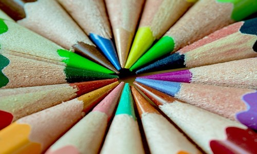 Adult Colouring Group at Couper Institute Library