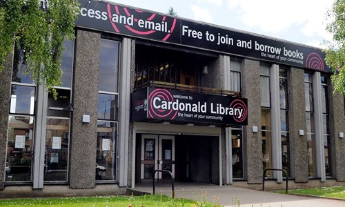 Cardonald Library Re-opening