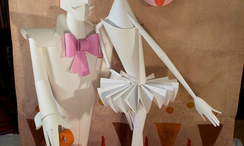 Make an Animal Paper Sculpture with Stephen Foster