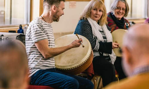 Bodhran for Improvers/Players with Cormac Byrne
